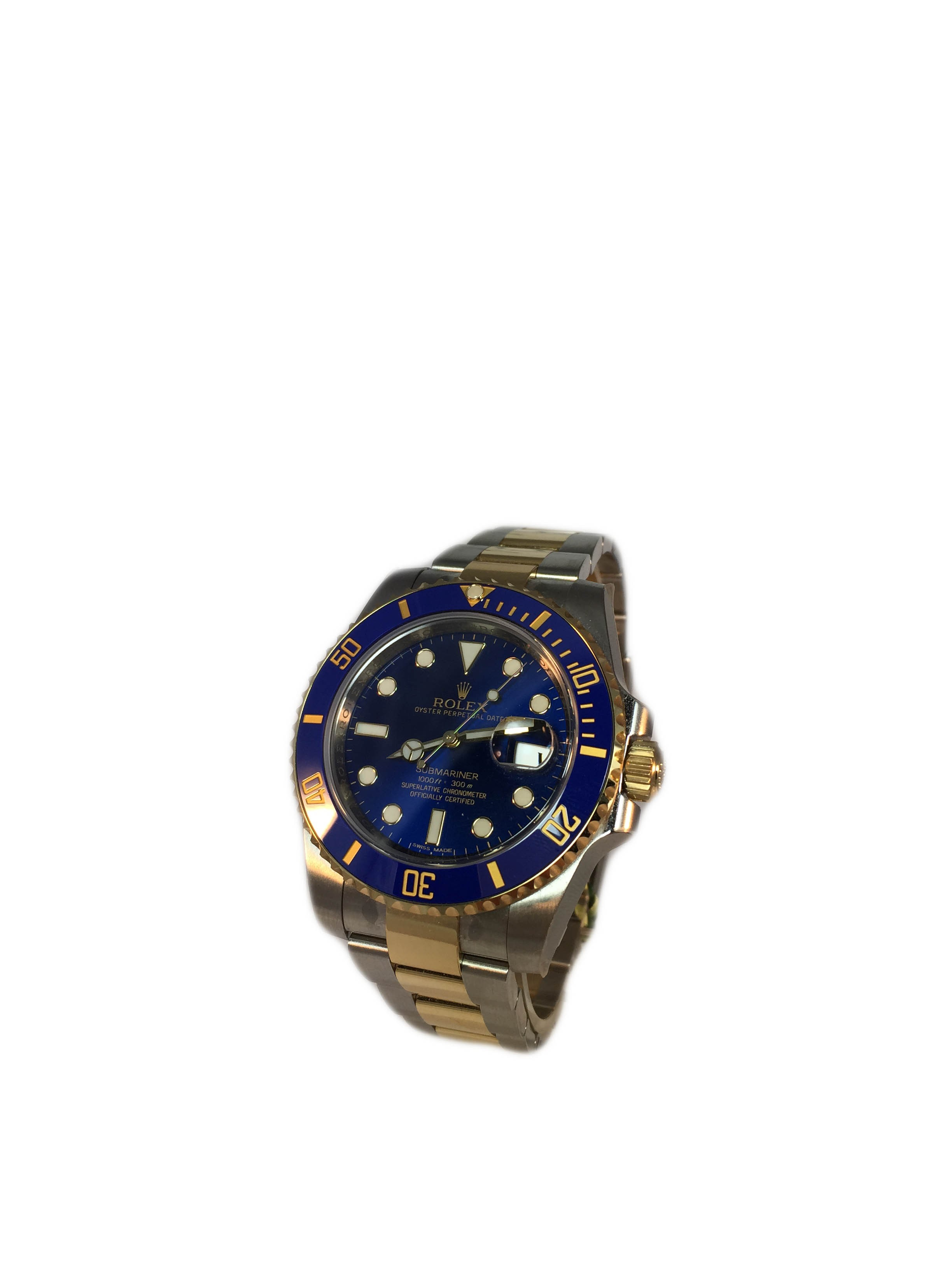 Rolex Submariner 116613blue